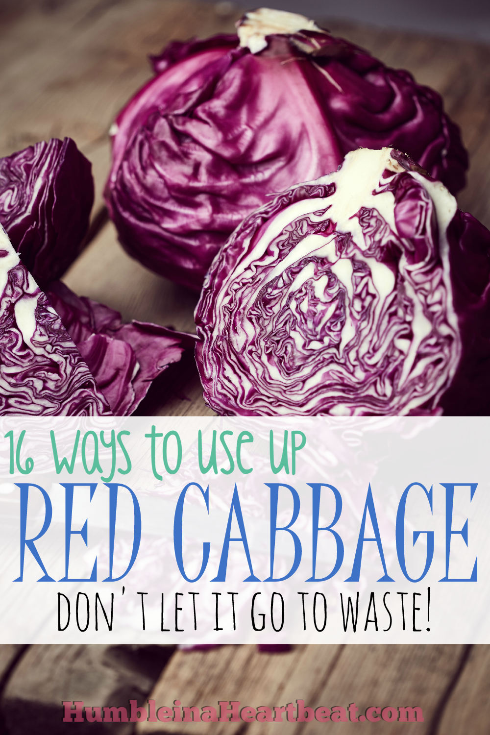 Ever bought some red cabbage for a recipe and then just let it sit in your fridge until it went bad? I have! Let's stop doing that and use it up with these great recipes!