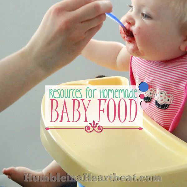 The BEST Homemade Baby Food Resources