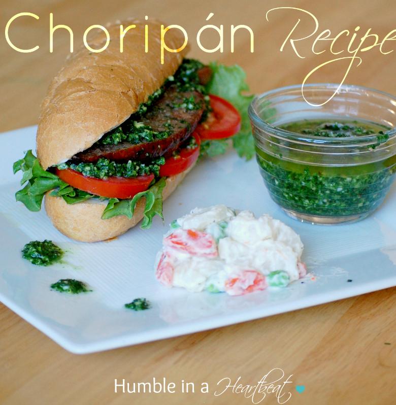 Choripán Recipe
