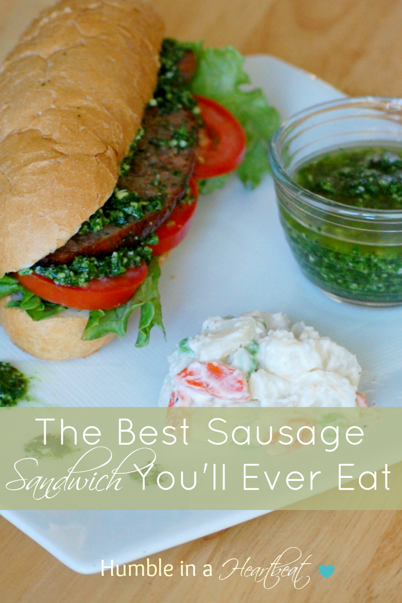 The Best Sausage Sandwich You'll Ever Eat