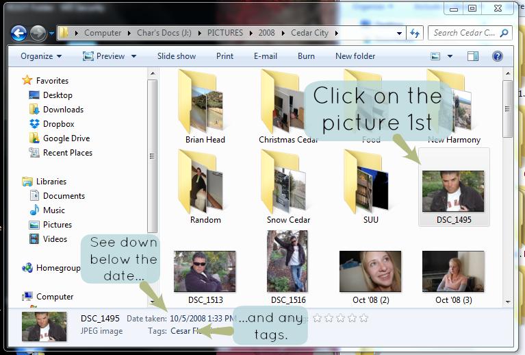 Basic Photo Organization Challenge: Folders by Date