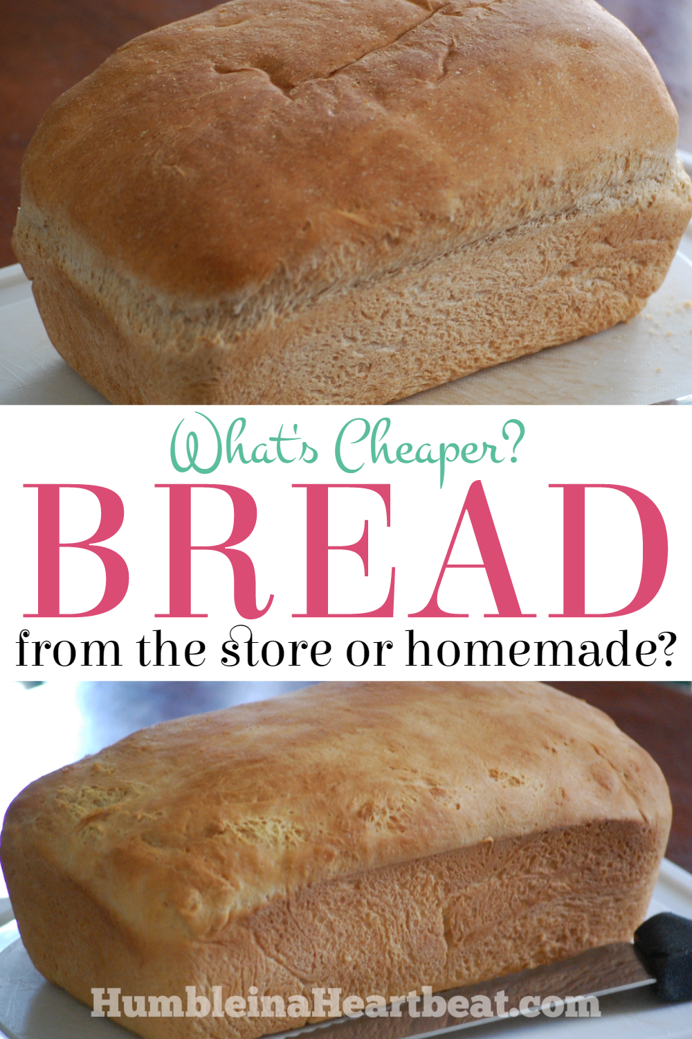 Ever wondered how much you could be saving if you made all your bread at home? Or what if it was really cheaper to buy it from the store? Here are some details to help you decide which is cheaper.