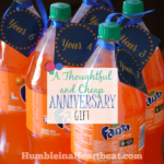 Clever and Cheap Anniversary Gift Idea