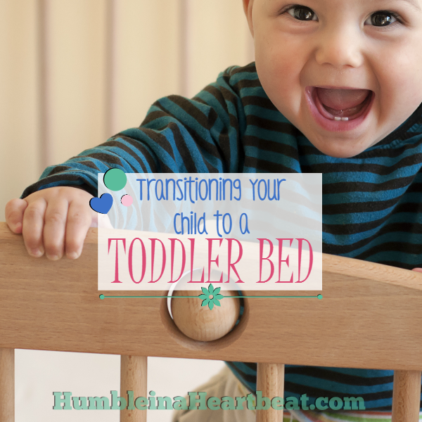 You can move your child to a toddler bed as early as you think they are ready. Here are some great tips to help ease the transition, even at a young age!