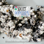 World Cup Fever: Soccer Popcorn