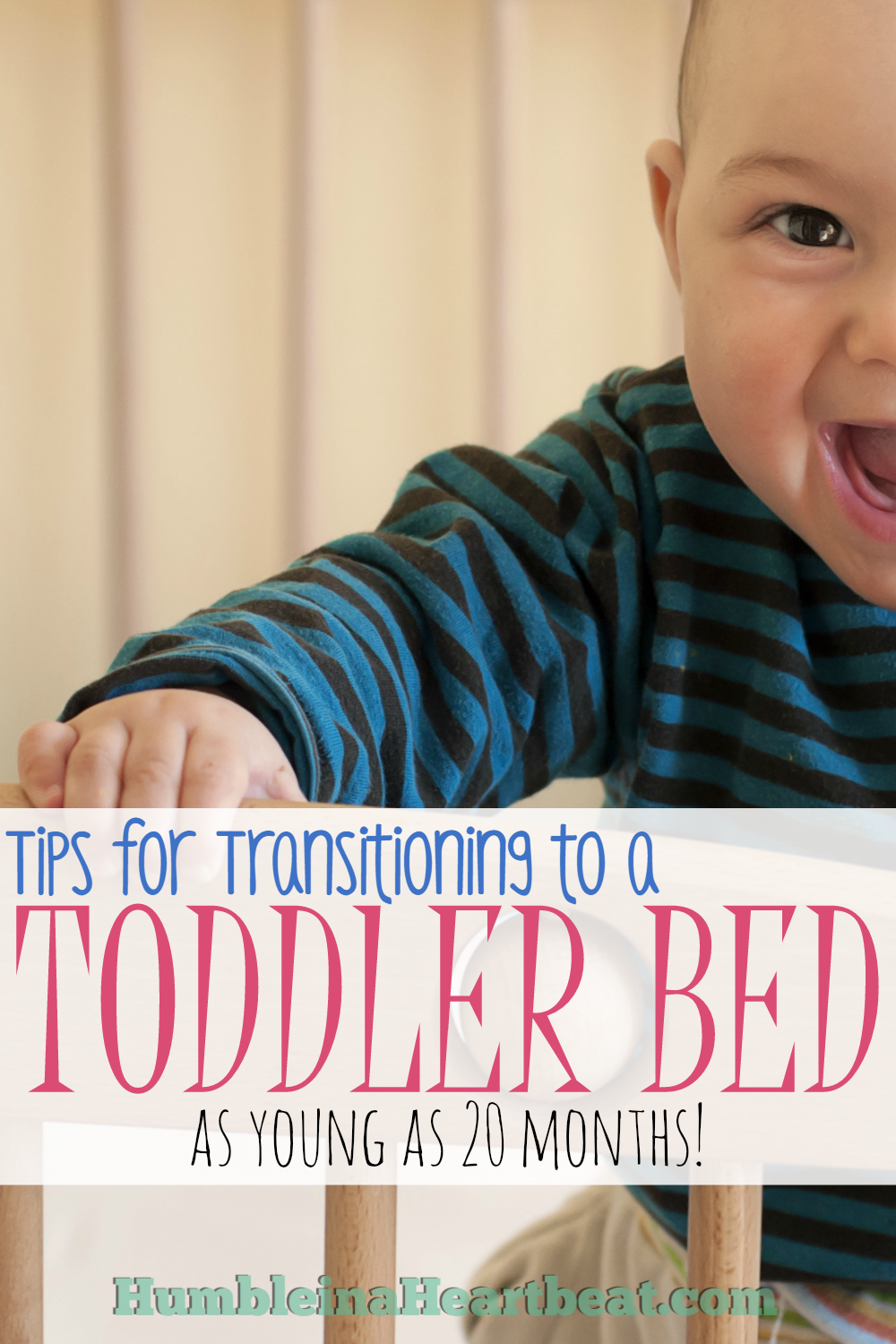 Transitioning Your Child To A Toddler Bed