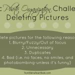 Basic Photo Organization: Deleting Pictures
