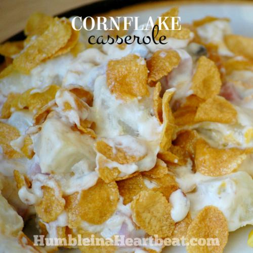 Cornflake Casserole Recipe