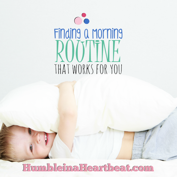 When you have a great morning, the rest of your day is often pretty good too. Here are some tips on finding a morning routine with kids that can set you up for a better day overall.