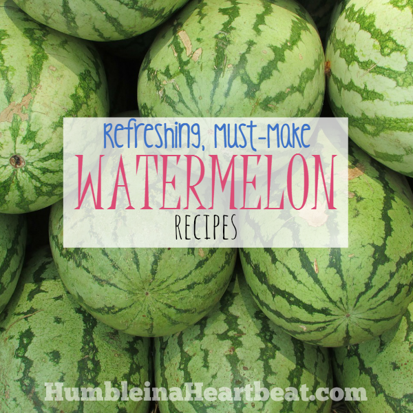 If you find watermelon for a great price or even have an overabundance of watermelon from your garden, try these yummy watermelon recipes this summer!