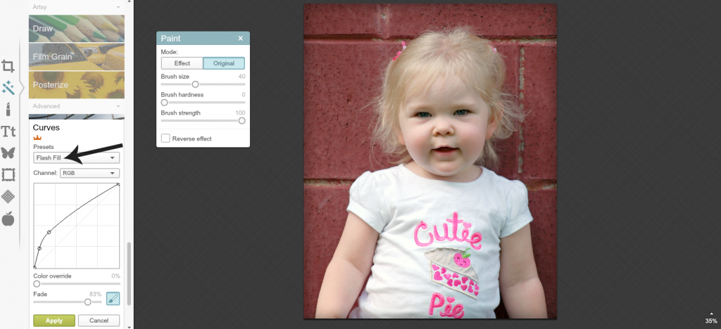 Editing School Pictures in PicMonkey