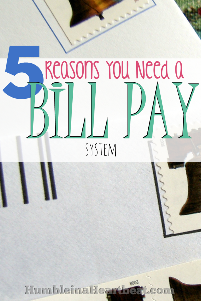 You can't afford to forget to pay your bills! That's just one reason you need a bill pay system. Click through to read the rest!