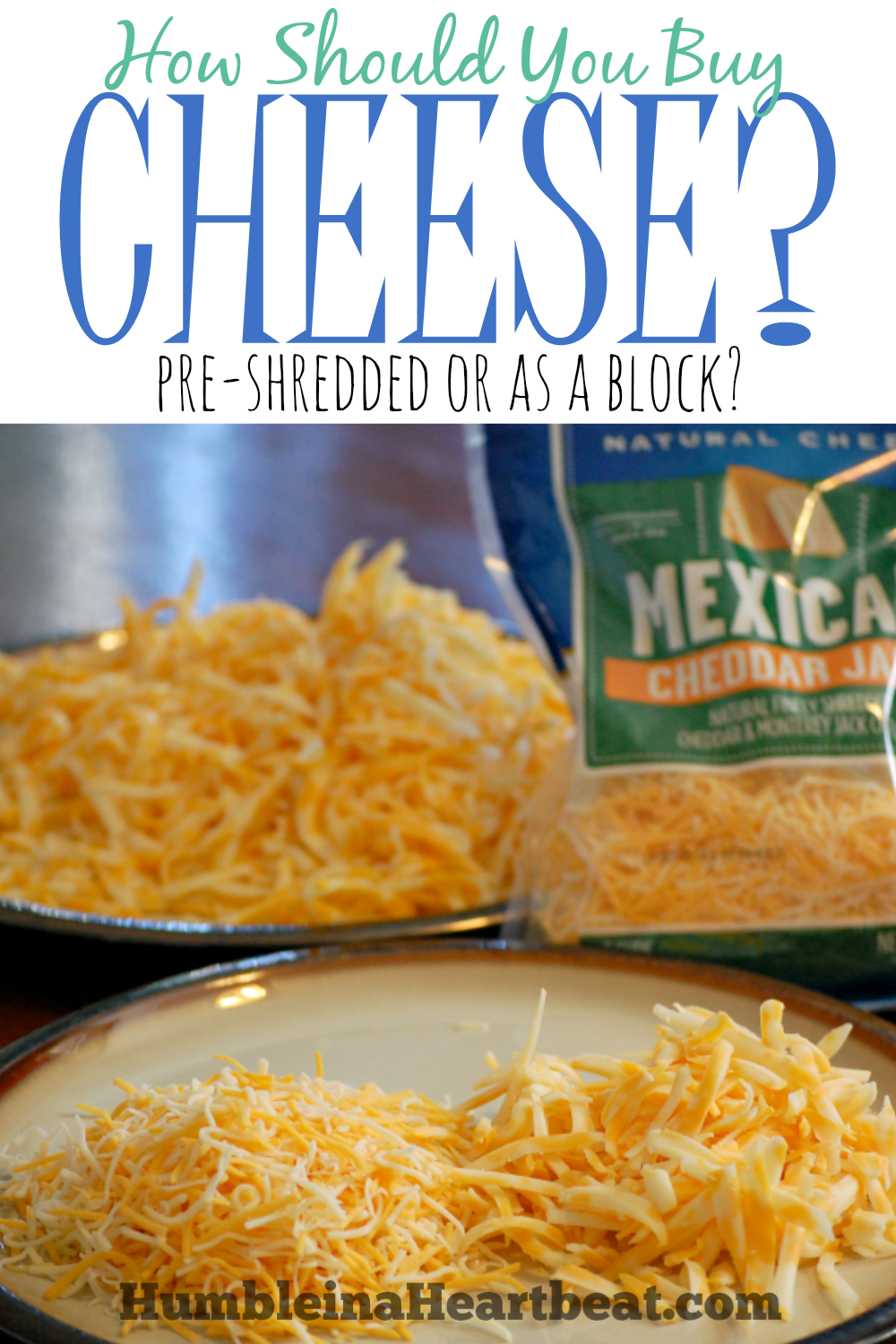 Is It Cheaper to Buy Shredded Cheese or a Block of Cheese?
