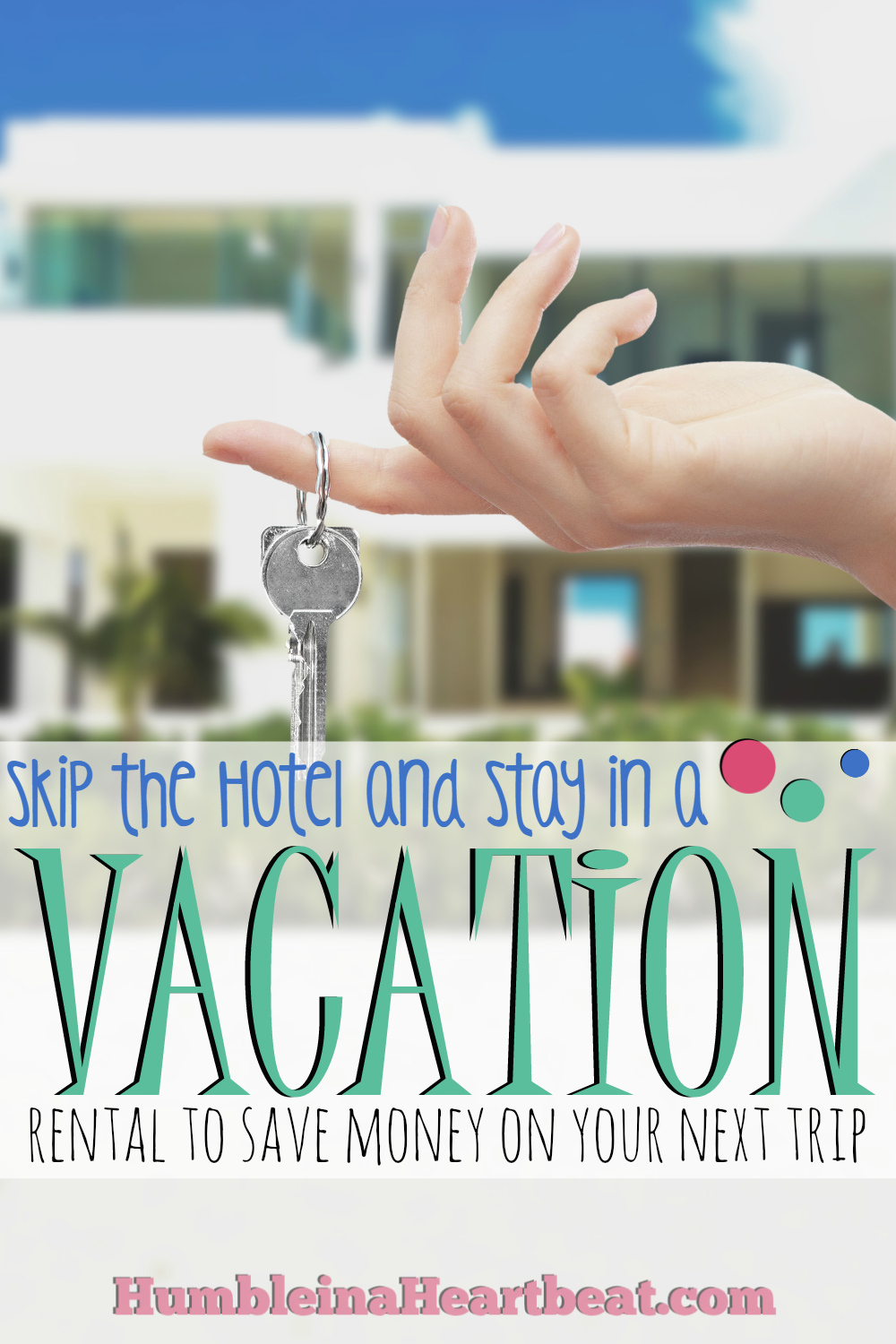 If you enjoy traveling, but you don't enjoy spending lots of money, look for a vacation rental and see if you can't save. They can be more affordable than staying at a hotel and they're so much more comfortable!