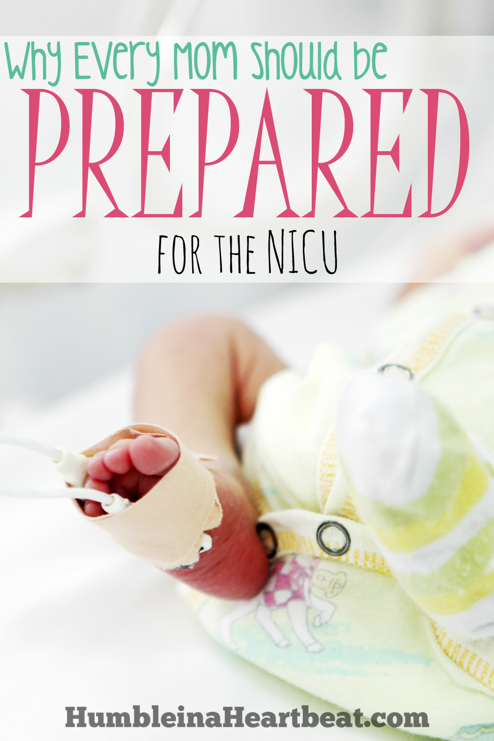 Babies can go to the NICU soon after birth for a myriad of reasons. Even if you don't think your baby will need to go there, you should at least prepare for it.