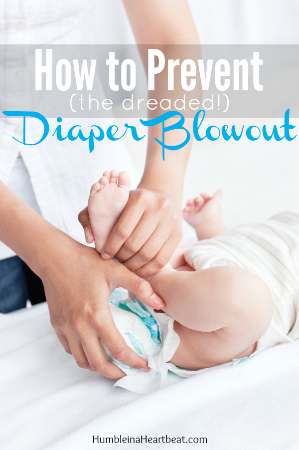 Diaper blowouts are icky! Learn how to stop them from happening or, if they do happen, how to take care of them.