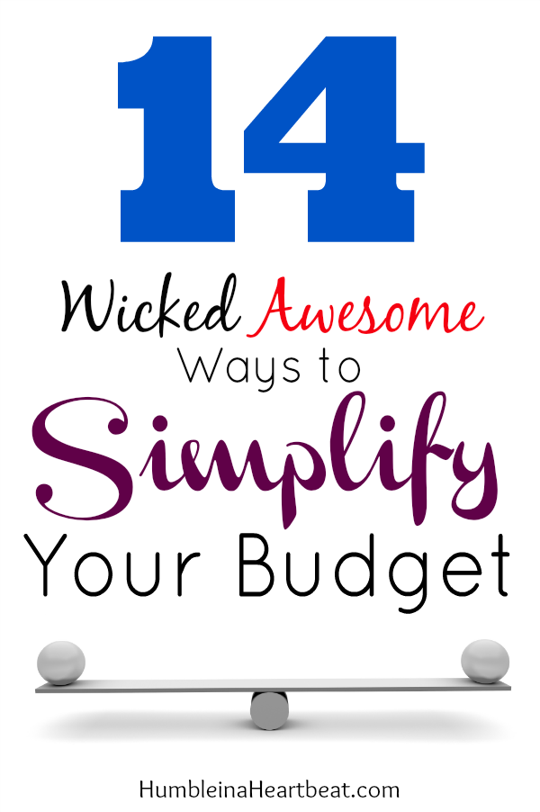 Overcomplicating your budget and the process of budgeting can be your downfall. If you find that you can't reach your financial goals, you may need to simplify.