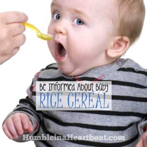 Is Commercial Baby Rice Cereal Truly Necessary?