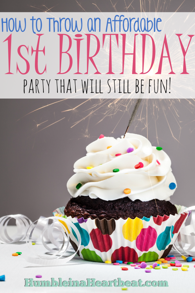 You CAN throw a great 1st birthday party under $100! Find out how to keep your budget in check for your own!