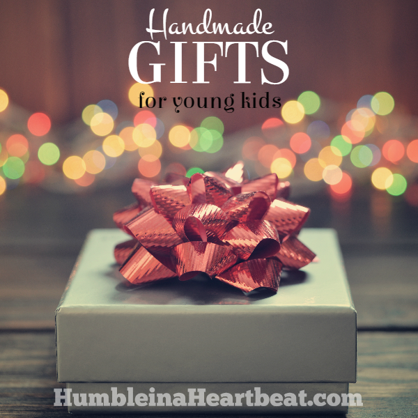 Handmade Gift Ideas For Young Children