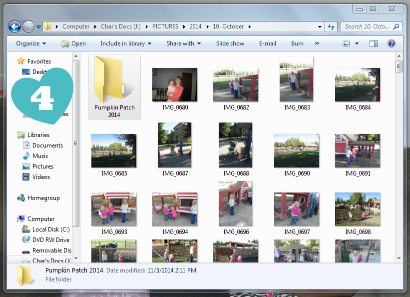 If you want to easily find your pictures by searching, you should rename them and tag the people in the pictures. Here's how you can do that on a Windows computer