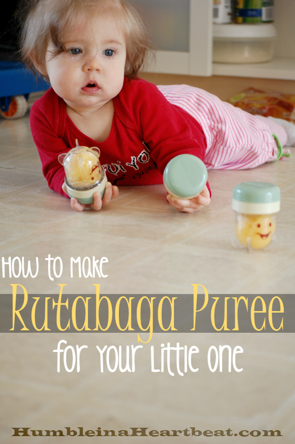 Rutabaga is a delicious vegetable to introduce to your baby. Here's your guide to making rutabaga puree.