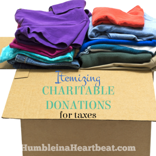 Properly Itemizing Charitable Donations on Your Taxes