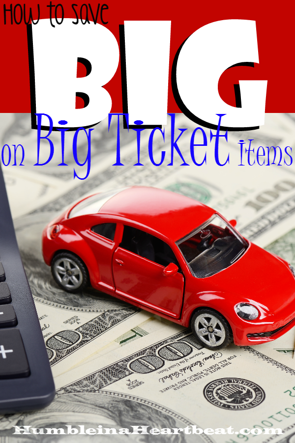 Ready to buy the latest and greatest car, tablet, or blender? Make sure you know these 7 ways to save BIG on big ticket purchases before you spend your hard earned cash.