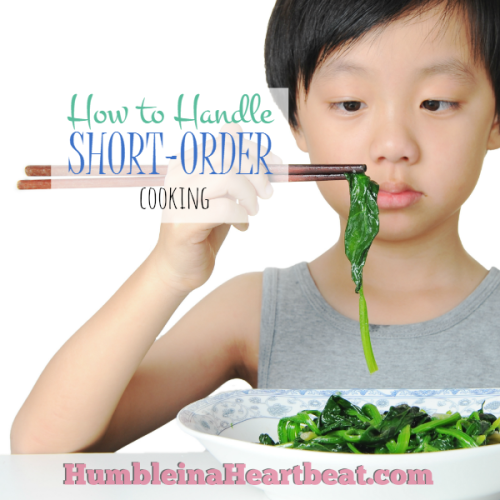 Kids and Food: Short-Order Cooking