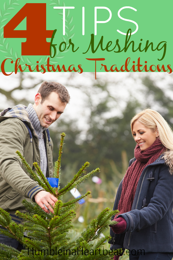Even if you both celebrated Christmas completely different growing up, it's possible to enjoy the Christmas season together. Make your traditions specific to you!
