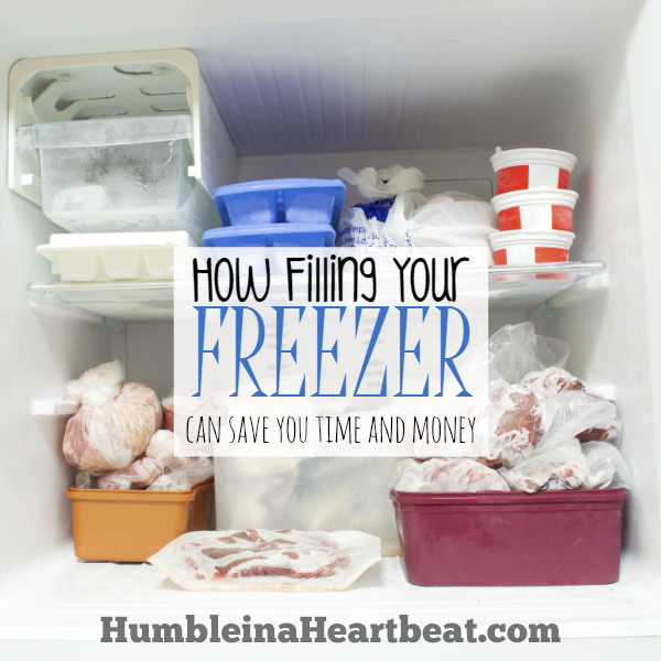 You don't have to do freezer cooking days to fill your freezer. Instead, try a few of these other ideas and you'll be able to fill your freezer and still save time and money!
