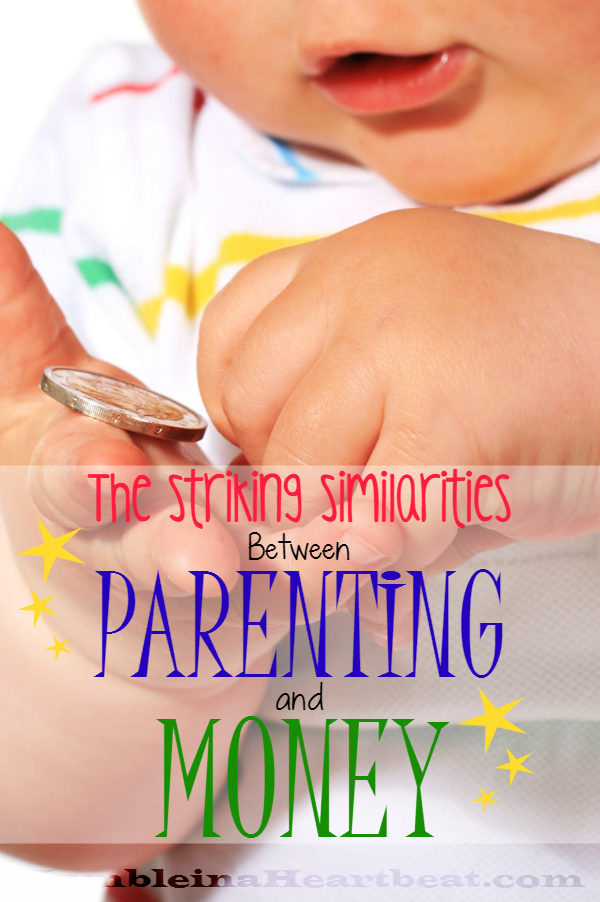 Raising kids and managing the family finances are both very similar jobs!