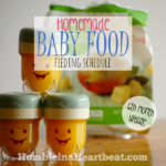 Solids Feeding Schedule: Month 6 Update