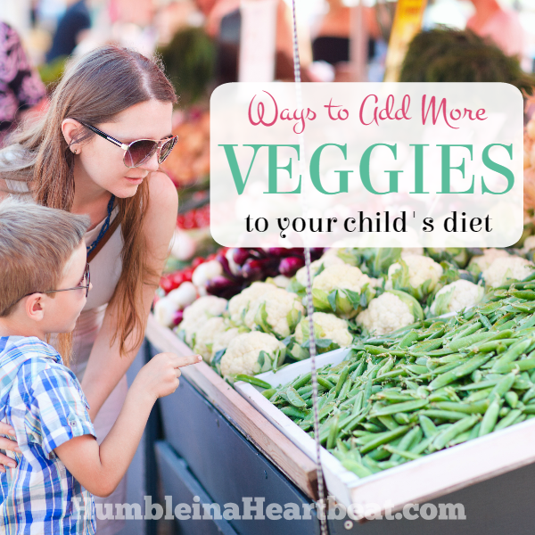 Kids and Food: Eat Your Veggies