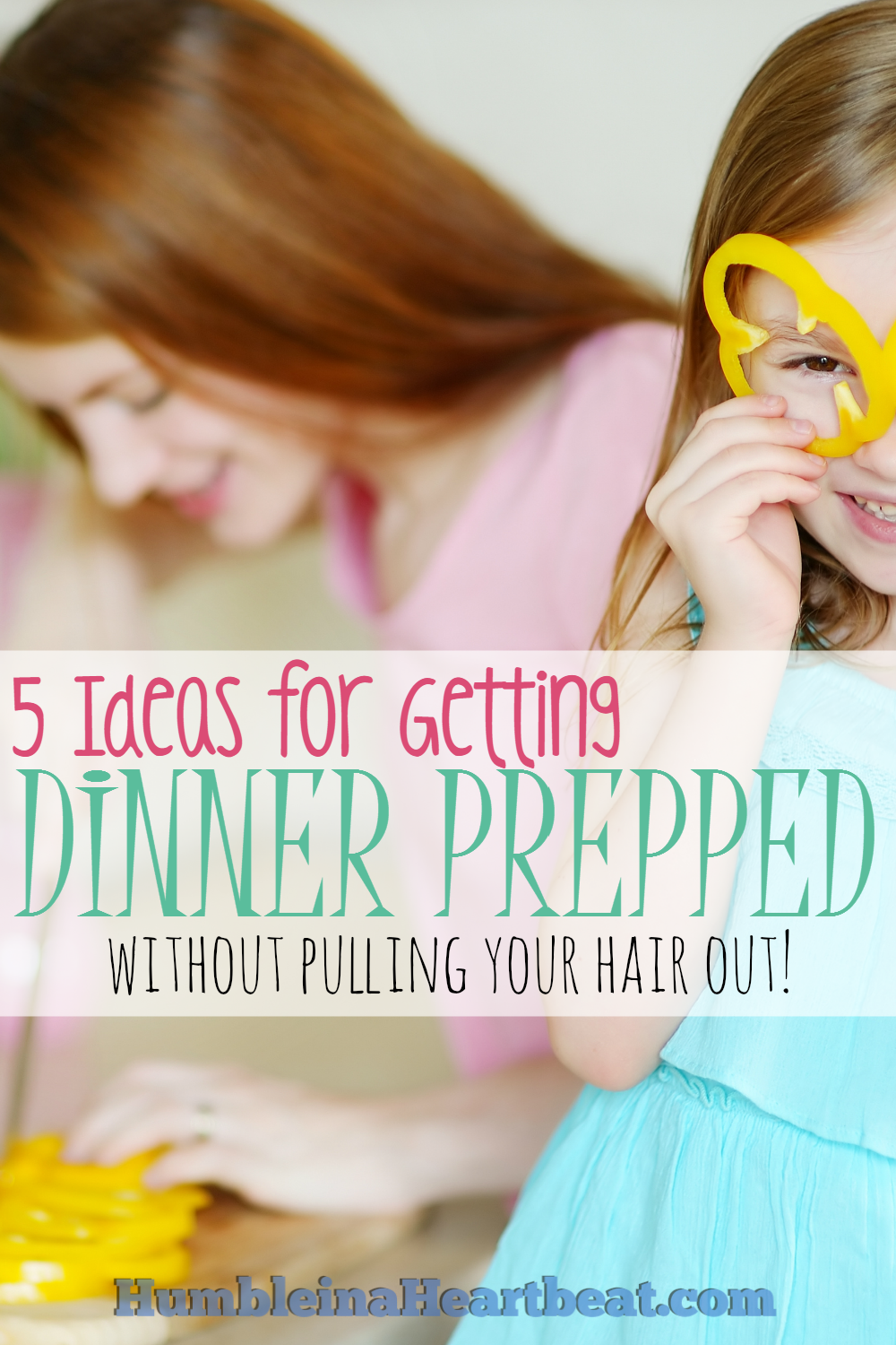 Cooking dinner while watching over young children can make any mom lose her mind! These 5 solutions will hopefully help you manage dinner prep and have happier kids (and mom!) at the same time.