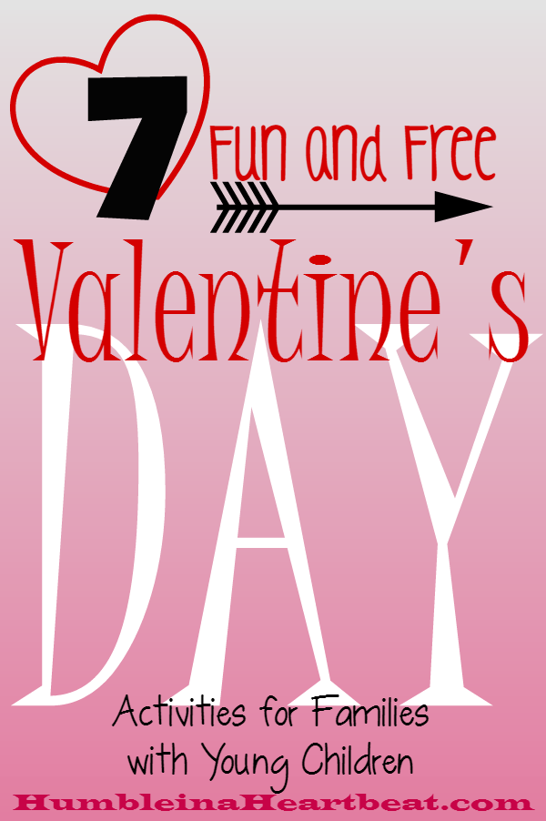Your kids will have so much fun spending time with you on Valentine's Day! Even if you do these activities before you go out on a date, it will be such a great time to make memories together.