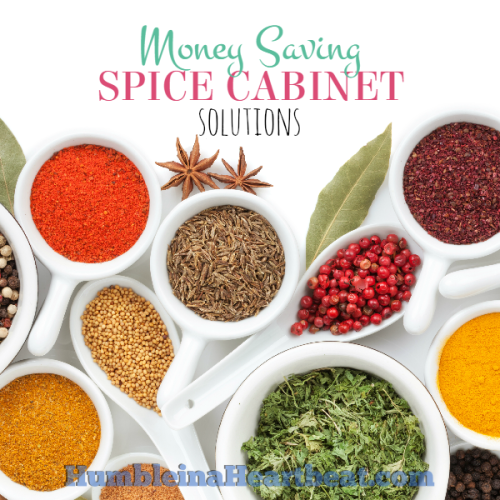 Money Saving Spice Cabinet Solutions