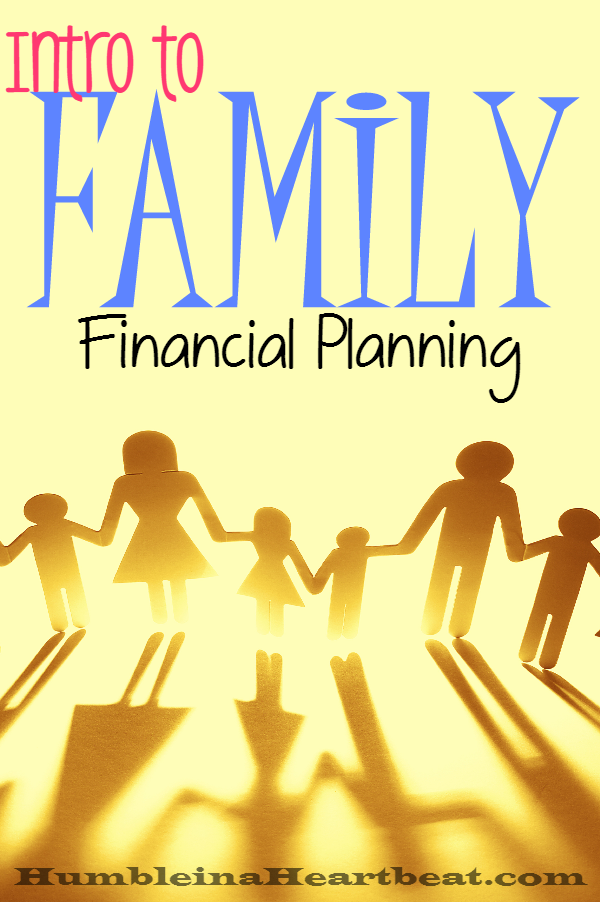 Planning your family's financial future is a way to deal with the bumps in the road and to handle the highs you encounter. It's smart to know where your family is headed financially.