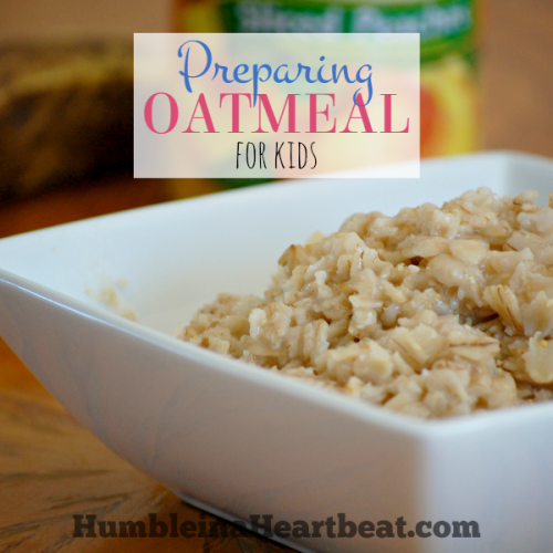 Oatmeal Options for Toddlers