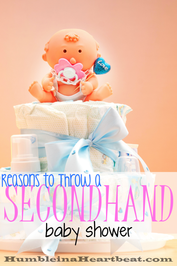 Would you ever consider having a secondhand baby shower? No?? Here's why this baby shower theme might be one of the most genius ones out there.
