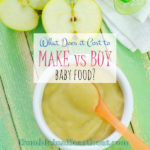 Cost Comparison: Baby Food