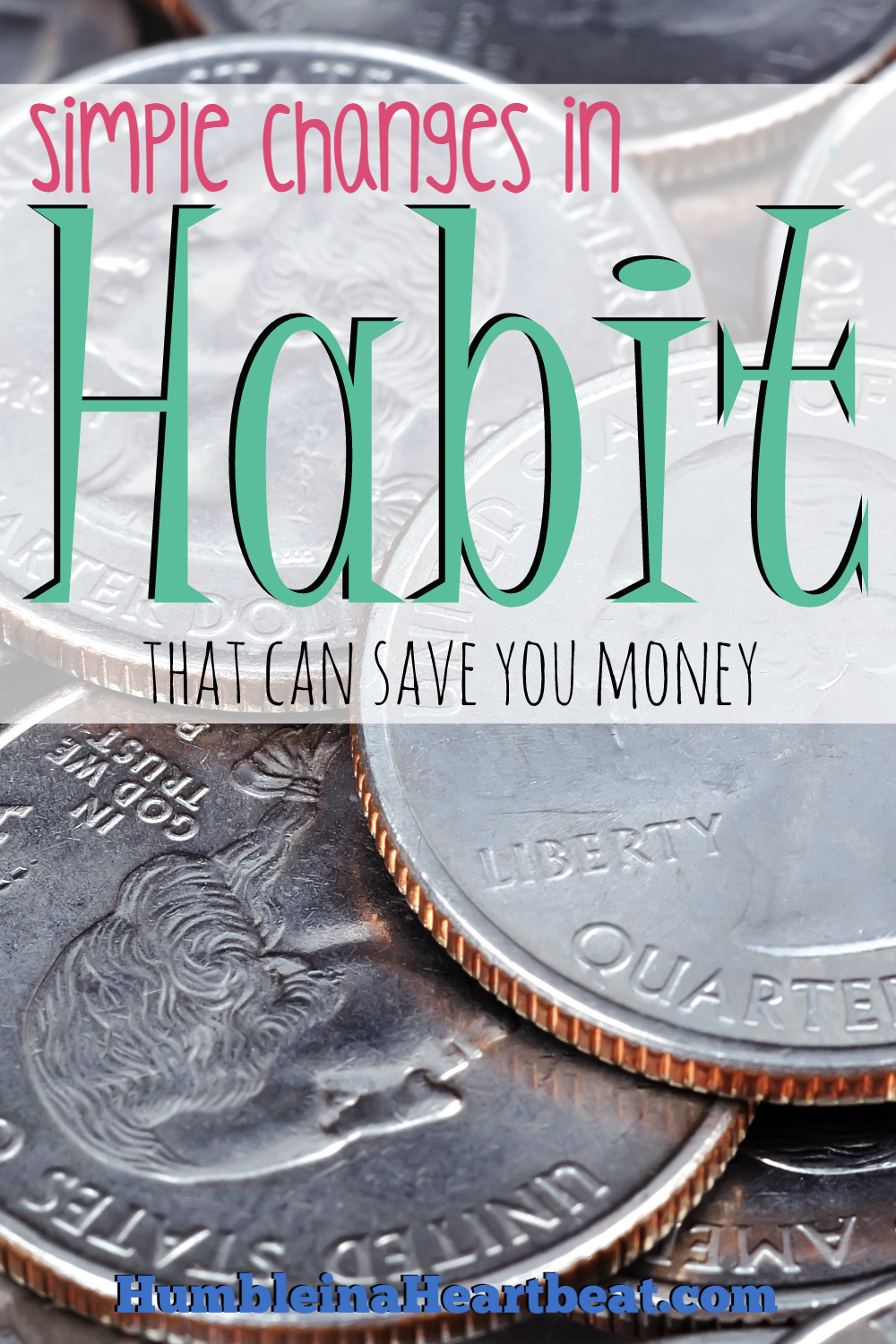 Do you have habits that suck money out of your bank account each month? Here are some easy habits you can change to start saving some money fast.