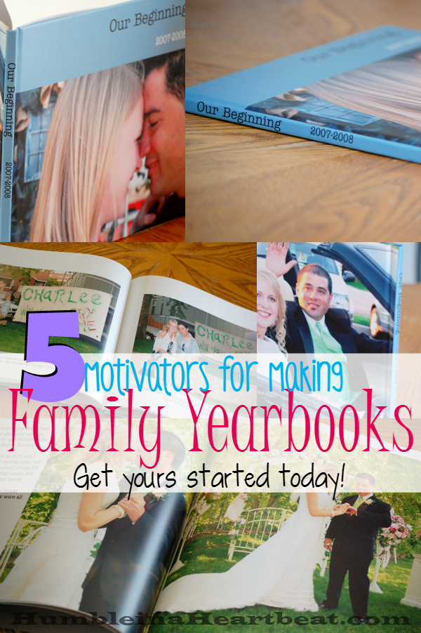 If you've got thousands upon thousands of pictures on your computer maybe you better make some family yearbooks. Here are 5 reasons why you should get started now!