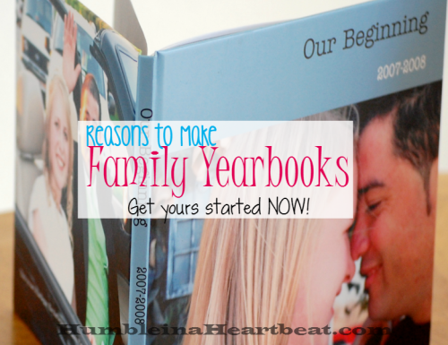 5 Motivating Reasons to Make Your Family Yearbooks