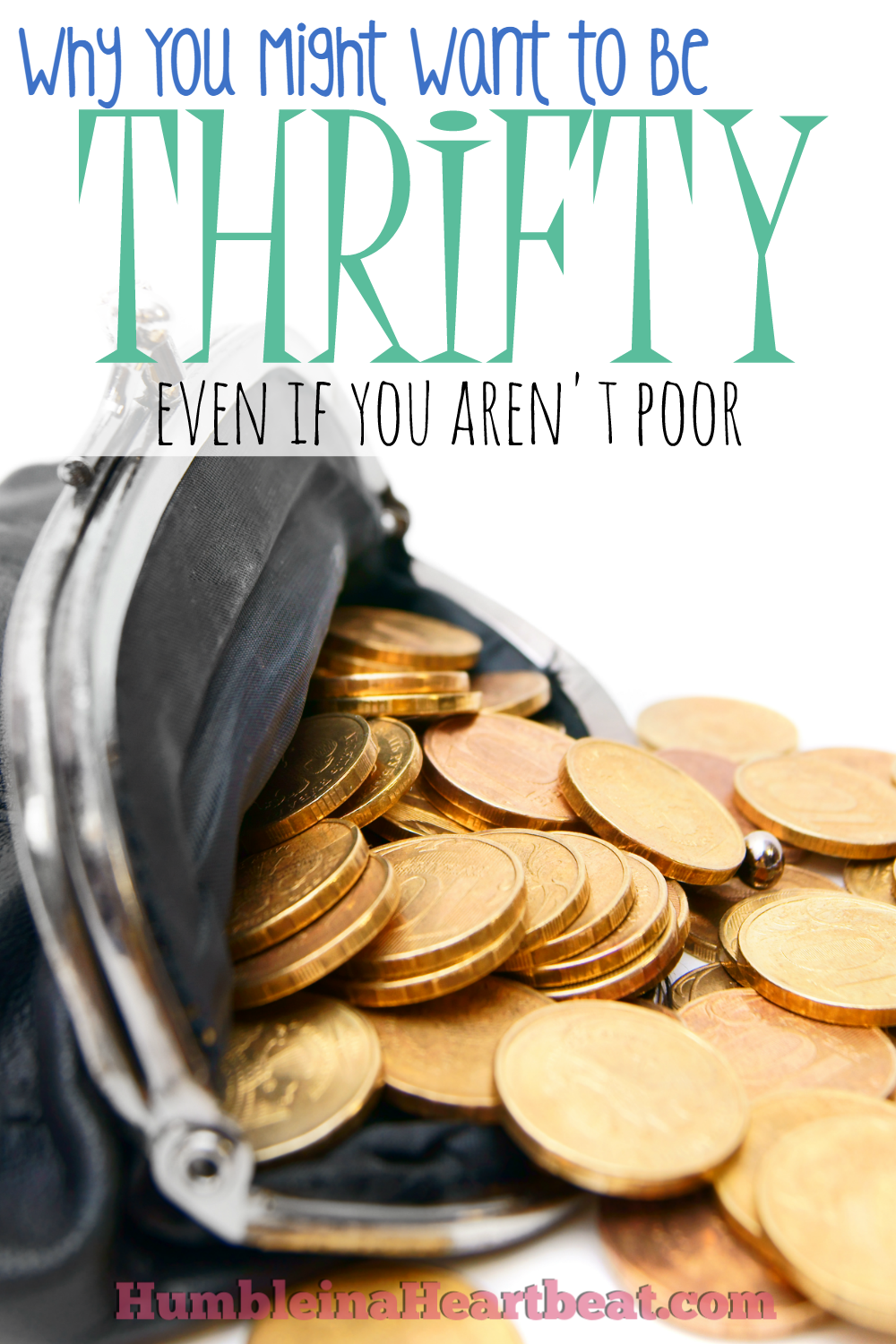 It's a common misconception that thrifty people are poor and need to be this way to make ends meet. But everyone should be a little thrifty now and then for a number of legitimate reasons.