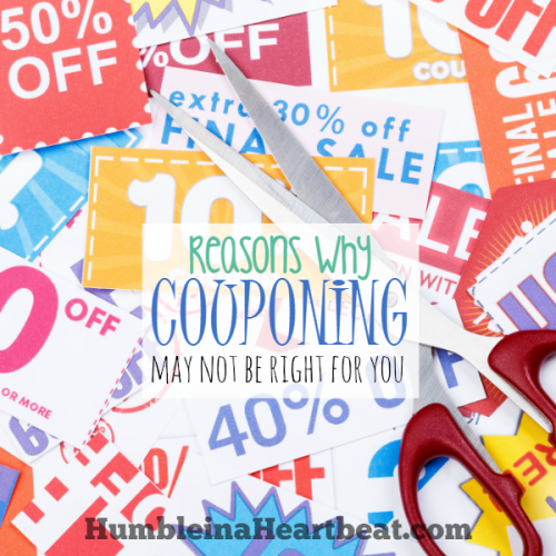 7 Valid Reasons Why I Don't Coupon