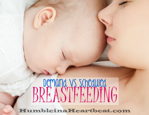 Demand vs Scheduled Breastfeeding