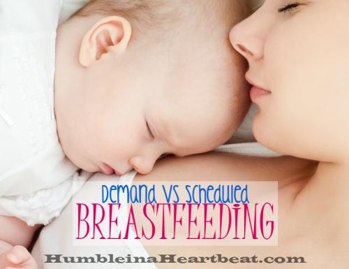 Demand vs Scheduled Breastfeeding