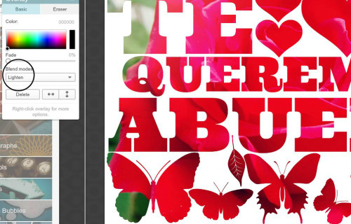 Here's a simple tutorial for creating a text mask in PicMonkey!