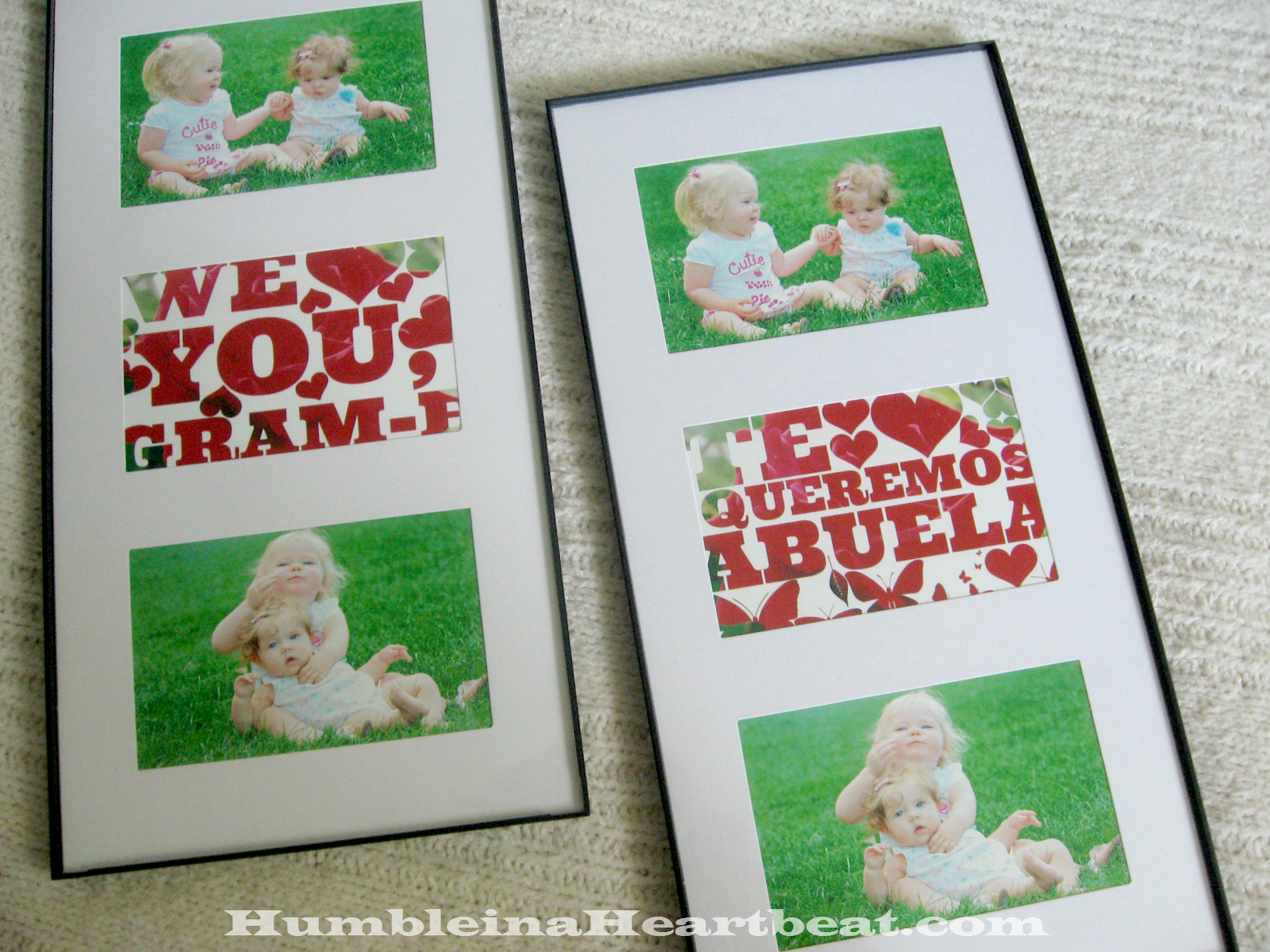 If you need a photo gift that's both cheap and easy to make, try some word art in PicMonkey!